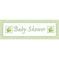 Sweet Pea Baby Shower GIANT Banner. 